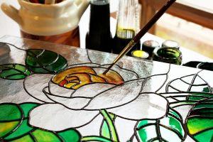 malowanie witrażu